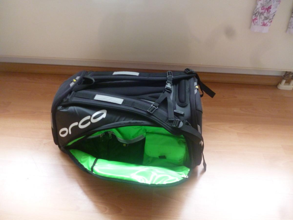 Triathlon Tasche für die Wechselzone