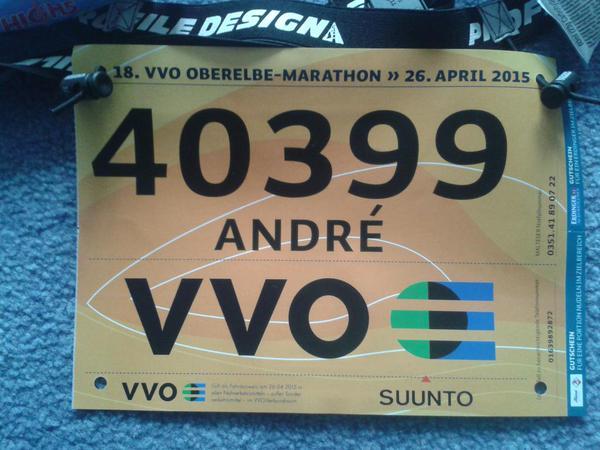 Oberelbe Marathon 2015 – Mein Erster!