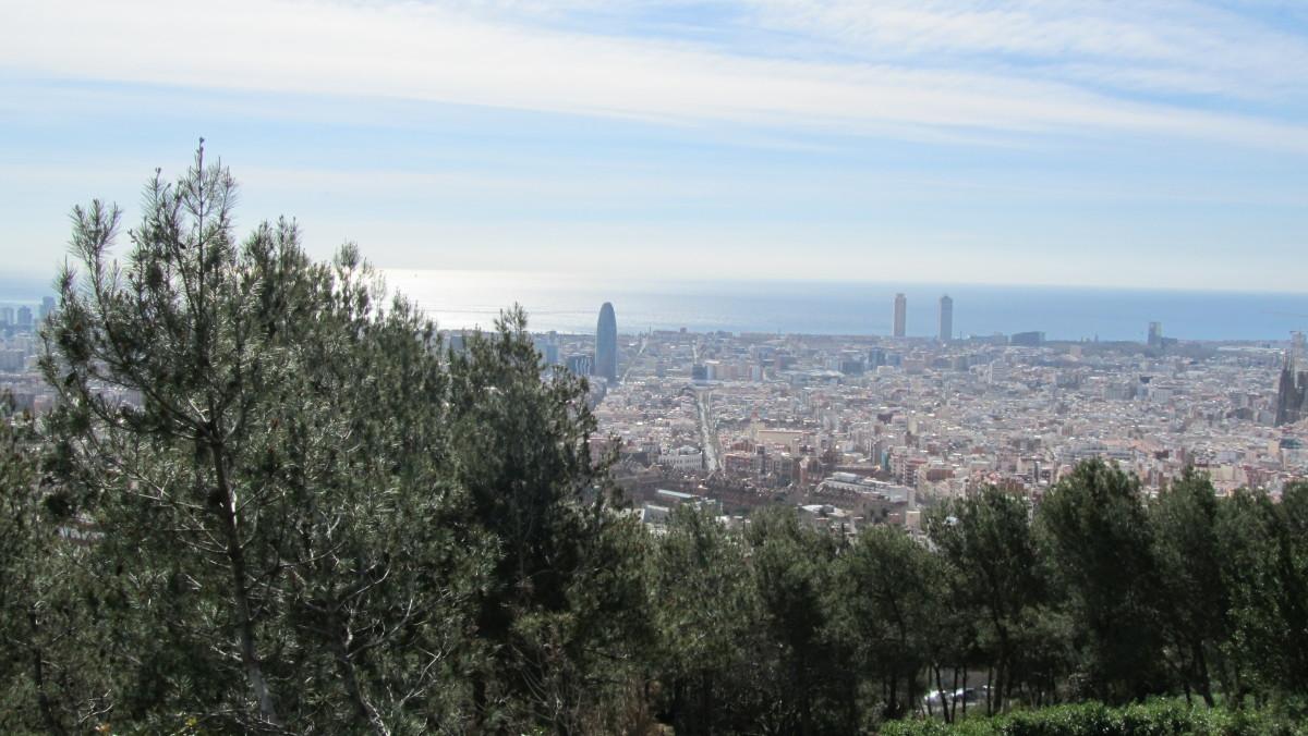 Barcelona und seine Berge