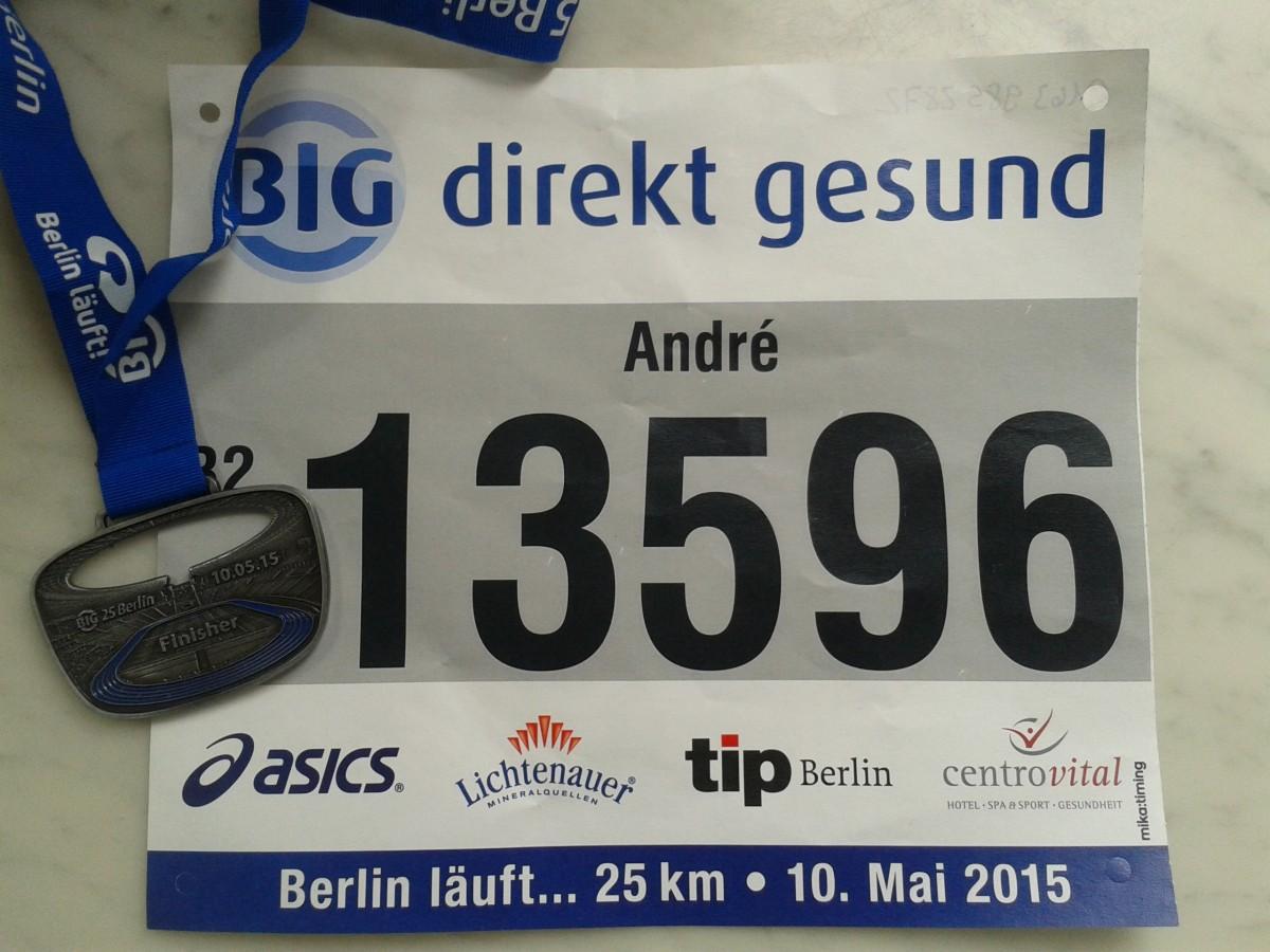 BIG 25 Halbmarathon 2015