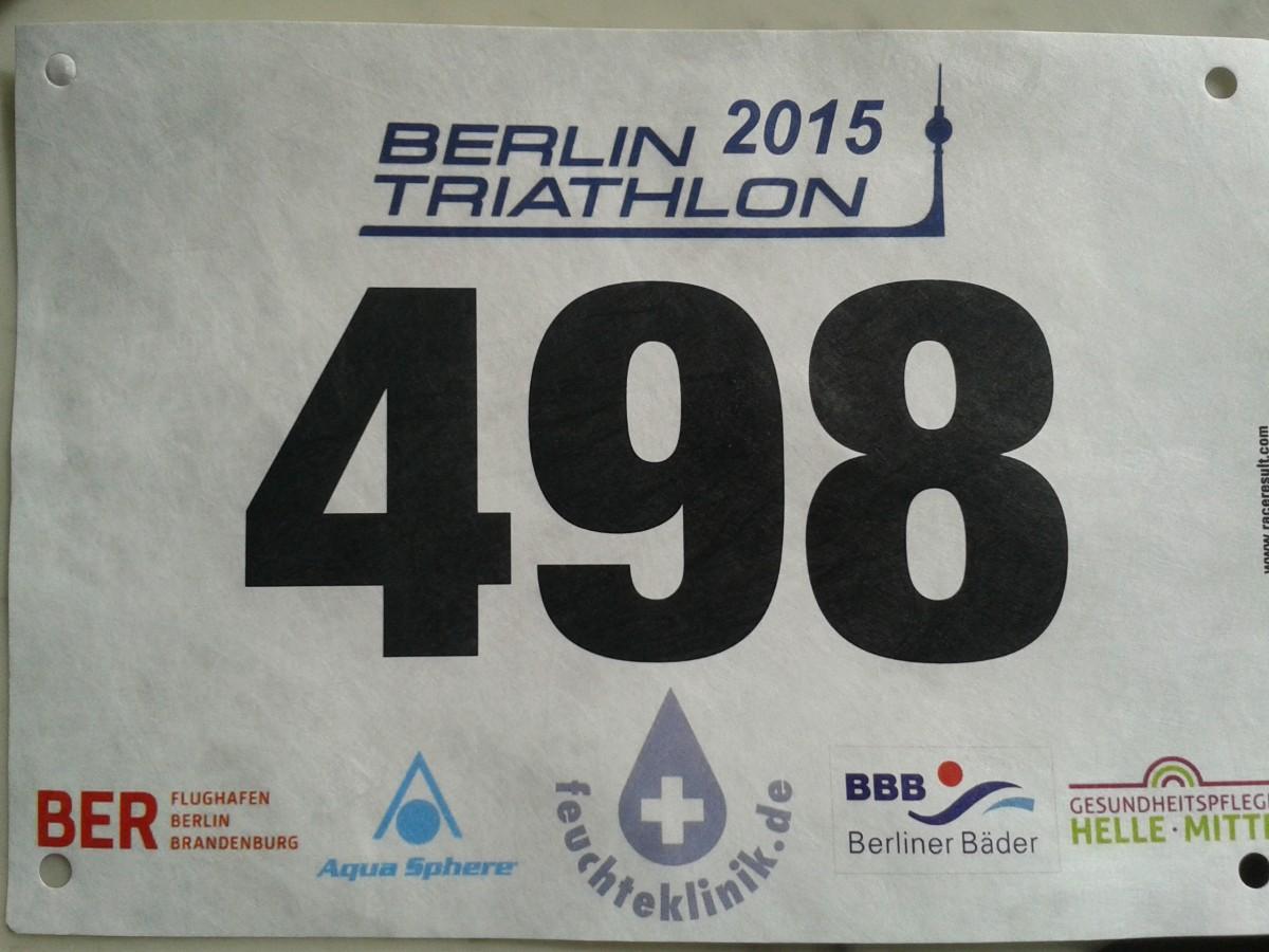 Berlin Triathlon Vorstartgedanke!