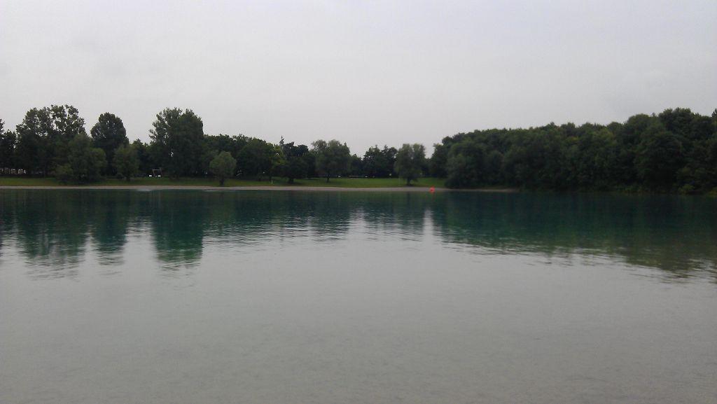 1. Freiwasserschwimmen im Karlsfelder See