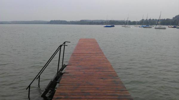 Schneller als Roth beim Starnberger See Schwimmen?