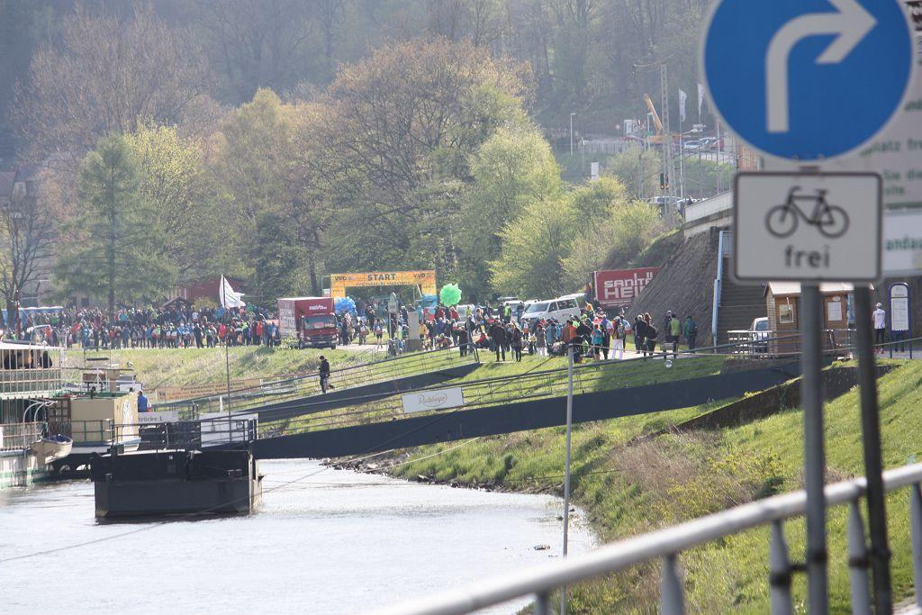 Training für den Oberelbe Marathon