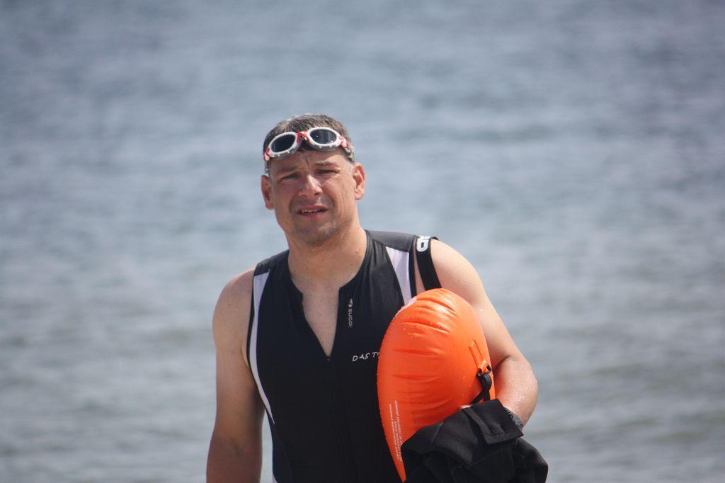 Freiwassertraining in der Ostsee