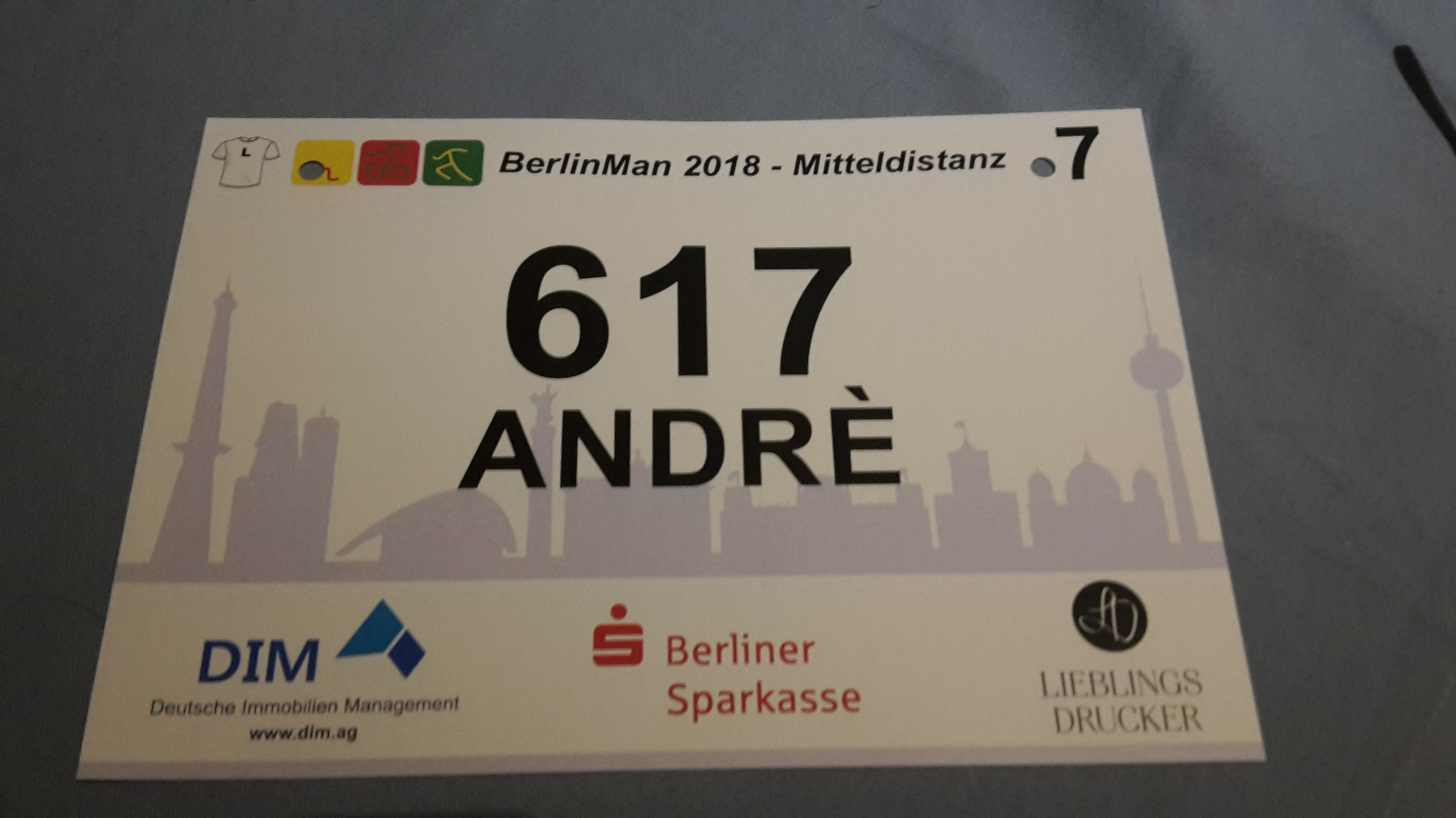 BerlinMan 2018 Race